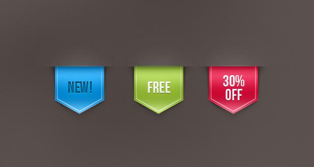 Snygga ribbons - gratis 1